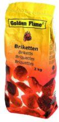 Zwarte Golden Flame - Houtskool Briketten - 2 kg