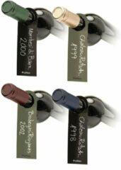 Groene Pulltex 36 wijn labels