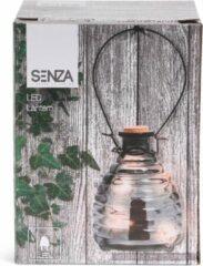 Zwarte SENZA - Led lantaarn grijs