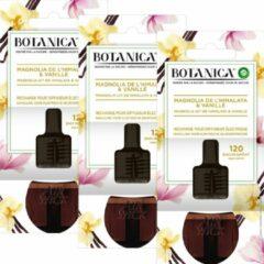 Botanica by Air Wick Elektrische Geurverspreider - Magnolia uit de Himalaya & Vanille - Navulling - 3 Stuks