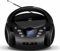 Denver TDB10 - Boombox met DAB+/FM radio - CD - USB -Zwart