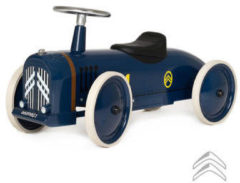 Blauwe Baghera Rosalie Citroën Speedster Retro Loopauto