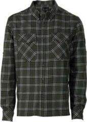 Groene Wolf Camper Huntly heren shirt flanel