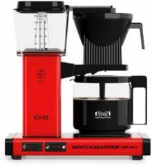 Moccamaster Moccamaste KBG SELECT Koffiefilter apparaat Rood
