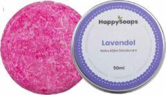 SET HappySoaps Natuurlijke deodorant LAVENDEL en shampoo bar LA VIE EN ROSE|Vegan, Natuurlijk en handgemaakt