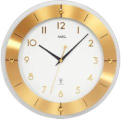 Gouden AMS radiografische wandklok AMS Goud