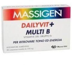 Marco viti farmaceutici Massigen dailyvit multi b 30 compresse