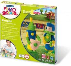 FIMO - STAEDTLER Staedtler FIMO kids 8034 Boetseerklei 42g Blauw, Crème, Groen, Geel 1stuk(s)