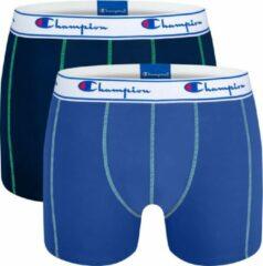 Boxershort heren Champion - 2-pack - ondergoed heren - Blauw - Maat S