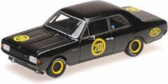 Opel Rekord 1900 'Schwarze Witwe' Erich Bitter 2. AVD-Rundstreckenrennen 'Carolus Magnus' Zolder 1968 - 1:43 - Minichamps