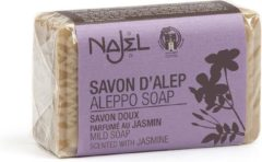 Zwarte Aleppo zeep Jasmin jasmijn olie zeep met olijfolie - 100g