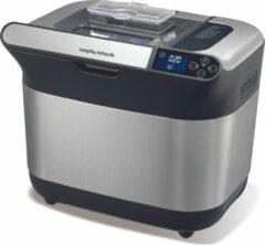 Roestvrijstalen Morphy Richards Breadmaker Premium Plus BPA free