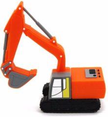 Oranje Leukste Winkeltje LeuksteWinkeltje USB stick 8 GB Kraan Graafmachine Hijskraan