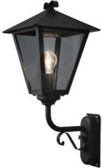Konstsmide Benu Up 434-750 Buitenlamp (wand) Energielabel: Afhankelijk van de lamp Spaarlamp, LED E27 100 W Zwart