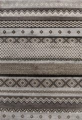 Impression Rugs Design Collection Loft Vintage Beige / Grijs vloerkleed Laagpolig - 160x230 CM