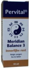 Pervital Meridian balance 3 innerlijke rust 30 Milliliter