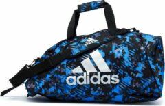 Adidas SporttasKinderen en volwassenen - blauw/zwart/zilver