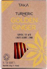 TAKA Turmeric / Kurkuma-thee met Gember Biologisch