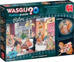 Wasgij Retro Mystery 4 - Live Entertainment! (1000) legpuzzel 1000 stukjes