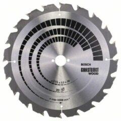 Cirkelzaagblad Construct Wood, 315 x 30 x 3,2 mm, 20 Bosch Accessories 2608640691 Diameter:315 mm Aantal tanden:20 Dikte:3.2 mm