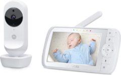 Motorola - Babymonitor Ease35 - Draadloos - Infrarood - Zoom - Thermometer - 2-wegcommunicatie