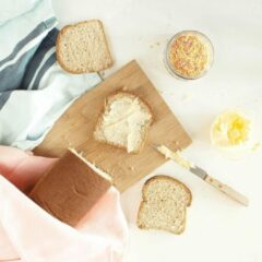 Ciao Carb | Protibrood Wit | Protobread | 1 x 250 gram | Koolhydraatarm Brood