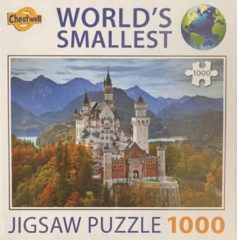Jigsaw World's smallest puzzel Neuschwanstein Castle 1000
