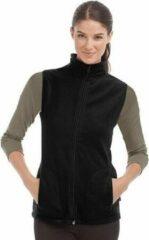Stedman Fleece bodywarmer zwart voor dames XL (42)