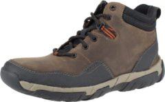 Bruine Boots en enkellaarsjes Walbeck Top II by Clarks