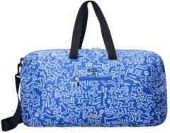 Keith Haring Edition Faltbare Reisetasche 53 cm ultraleicht Samsonite graf blue
