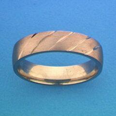 Huiscollectie TFT Ring A307 - 5 Mm - Zonder Steen Zilver Gerhodineerd