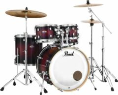 Pearl DMP925F/C261 Decade Maple Gloss Deep Red 5 delig drumstel