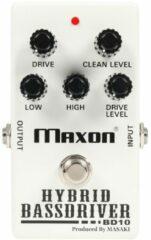 Maxon BD10 Hybrid Bass Driver overdrive voor bas en gitaar