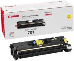 Gele Canon 701 - Tonercartridge / Geel / Hoge Capaciteit