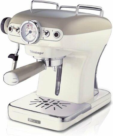 Afbeelding van WT Trading Ariete Espressomachine Vintage Beige - Ariete Espressomachine Vintage Beige