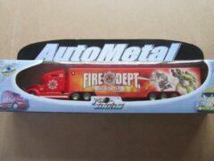 Rode Die Cast Autometal pro enoine diecast camion fire dept rescue