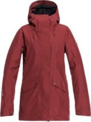 Rode Roxy Glade Jacket Wintersportjas Dames - Maat XL