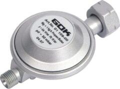 Zilveren Gok - Drukregelaar - Universeel - 1/4 inch Linkse aansluiting - 50 Gr