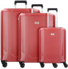 Airtech L 4-Rollen Kofferset 3tlg. Hardware lady red