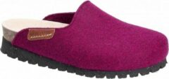 Mephisto THEA Dames Klomp/Slipper - Paars - Extra breed - Maat 36