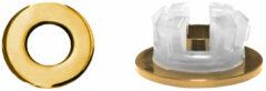 Overloopring Sanitop Voor Wastafel 30mm Goud (Geschikt voor 18 t/m 25 mm)