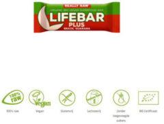 Lifefood Lifebar plus brazil guarana bio 47 Gram