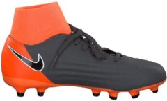 Fußballschuhe Jr Magista Obra II Academy DF FG mit Dynamic Fit-Kragen AH7313-080 Nike Dark Grey/Black-Total Orange-White