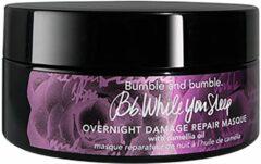 Bumble and Bumble - While You Sleep - Herstellend masker voor beschadigd haar 190ml-Geen kleur
