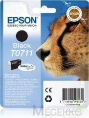 Epson Singlepack Black T0711 DURABrite Ultra Ink (C13T07114021)