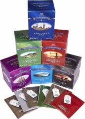 New English Teas Classics Gift Pack 6 x 10 Tea bags Selection Earl Grey - English Afternoon - English Breakfast - Darjeeling - Assam - 1869 English Tea