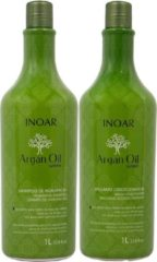 Inoar Argan Shampoo & Conditioner 1 L