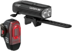 Zwarte Lezyne Mega Drive 1800L / KTV Pro Smart Light Pair - Fietslampen (setjes)
