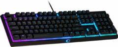 Zwarte Cooler Master MK110 - Bedraag Gaming Toetsenbord - RGB Verlichting - QWERTY