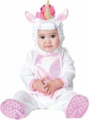 Grijze INCHARACTER - Eenhoorn kostuum voor baby's - Klassiek - 86 (18-24 maanden) - Kinderkostuums